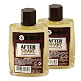 CHH Tobacco After Shave Rasierwasser 2 Flaschen im Set je