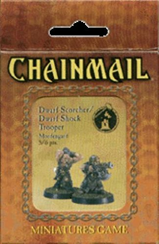 Chainmail Dwarf Scorcher / Dwarf Shock Trooper