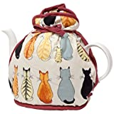 Cats in Waiting Muff Tea Cozy