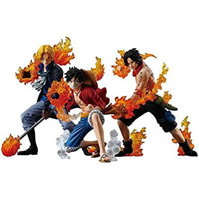 ワンピース ATTACK STYLING 炎の3兄弟 3個入 BOX(食玩・ガム)