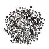 Evermarket(Tm) 1000 Pcs Square Shaped Rhinestone Nail Art Decoration 2mm Transparent