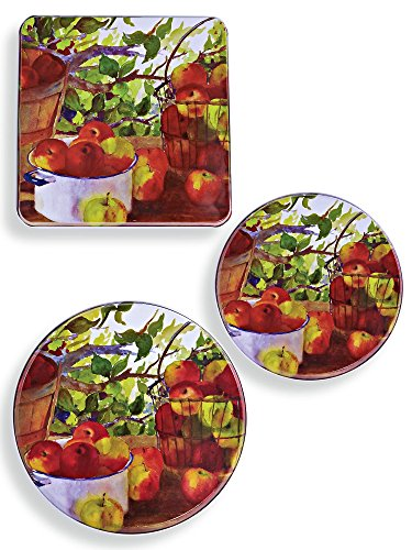 Metal Apple Burner Covers