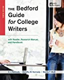 img - for The Bedford Guide for College Writers with Reader, Research Manual, and Handbook book / textbook / text book