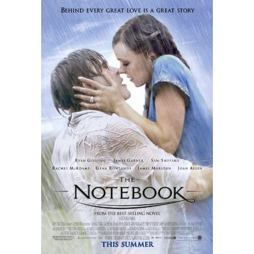 The Notebook Movie Poster 1 Sided Original