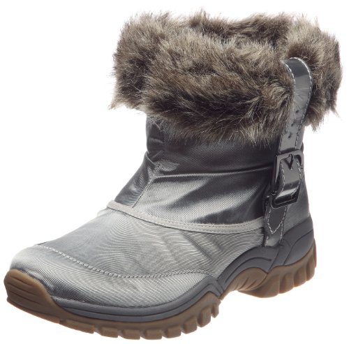 Rockport Women's Finna Fur Scrunch Bootie Steel Waterproof Boot K59232 5 UK
