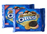 Banana Split Flavor Oreo Limited Edition Sandwich Cookies 12.2 oz (345g) - Two Pack