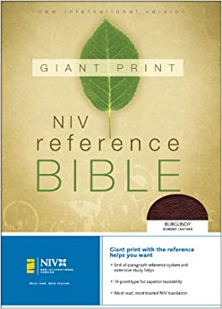 niv life application study bible personal size leather bound