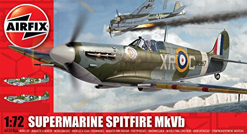 Airfix A02046A Supermarine Spitfire MkVb 1:72 Scale Military Aircraft Series 2 Model Kit (Airfix Model Kits compare prices)