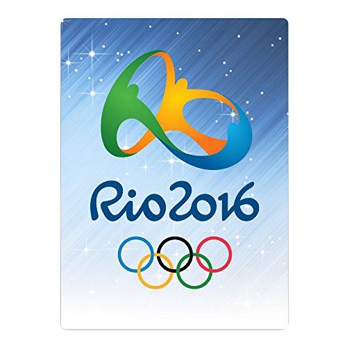 JULIA リオ オリンピック 競技 ロゴ マイクロファイバー タオル 男女兼用 柔らかい お風呂に White One Size 抜群の肌触り♪