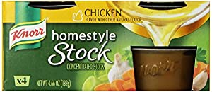 Knorr Homestyle Stock Chicken, 4.66Ounce, 4Count (Pack of 4)