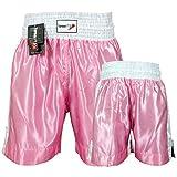TurnerMAX Boxing Shorts Trunks Kickboxing Training fighting sparring MMA UFC Pink