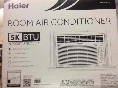 Haier Room Air Conditioner 5k - Hwf05xcl (Window Air Conditioner compare prices)