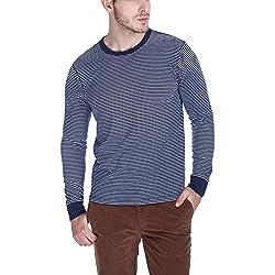 Zobello Men's Sweatshirt (21026B_Ink Blue_X-Large)