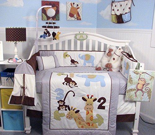 Best  Collection SoHo Giraffe Baby Crib Nursery Bedding
