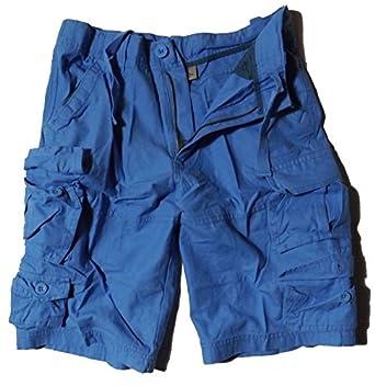 Herren Sommer Cargo Shorts in versch. Farben (S, Blau)
