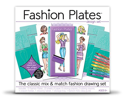 Fashion Plates - Fashion Drawing Set