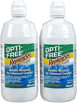 Opti-Free Replenish Multi-purpose Disinfecting Solution, 56-Ounce Bottles (Opti-sgk7