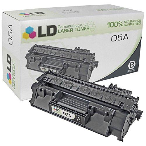6 Pack CE505A 05A Toner Cartridge for HP LaserJet P2035n P2055dn P2055x Printer