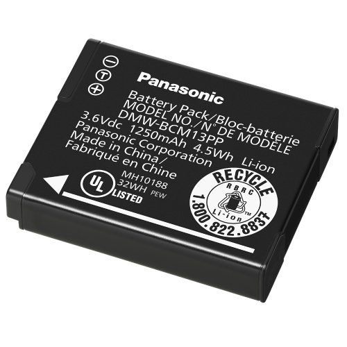 Panasonic DMW-BCM13 Lithium-Ion Battery Pack (Black)