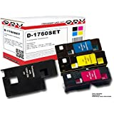 4 x Kompatibler Toner für Dell C1760 / C1765 schwarz, cyan, magenta, gelb