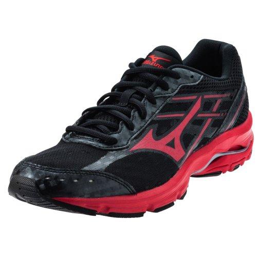 Mizuno Men'S Wave Unite 2 Running/Training Shoe - Black & Red (Black/Red, 11.5)