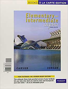 elementary and intermediate algebra books a la carte edition mymathlab and worksheets 3rd. Black Bedroom Furniture Sets. Home Design Ideas