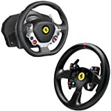 Thrustmaster Xbox One/PC Ferrari 458 Italia Edition TX Racing Wheel with 4060047 Ferrari GT F458 Challenge Wheel Add-on