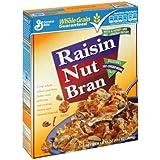 General Mills Raisin Nut Bran Cereal, 17.1 oz (Pack of 4)