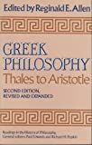 Greek Philosophy: Thales to Aristotle.  Readings in the History of Philosophy.  Second Edition, Revised and Expanded. (0029006600) by Paul Edwards