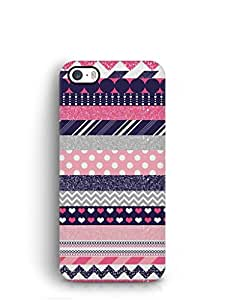Cover Affair Patterns Printed Back Cover Case for Apple iPhone SE