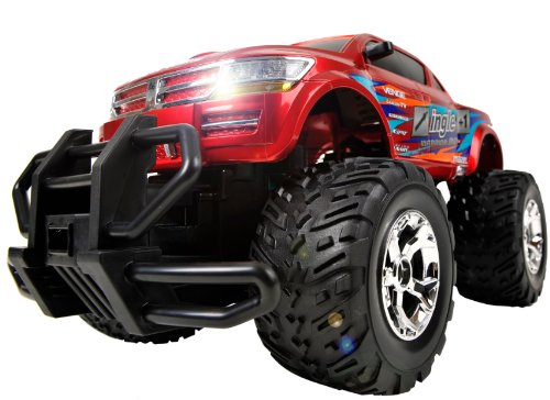 Rampage Cross Country 1/12 Radio Controlled Scale Monster Truck 27Mhz
