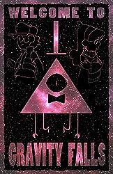 Gravity Falls - Galactic Peculiarity Poster