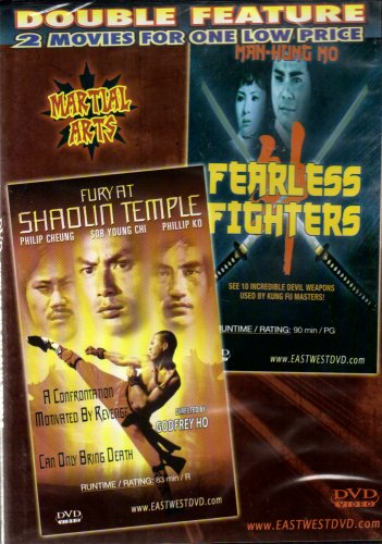 Fearless Fighters+Fury at Shaolin Temple[Slim Case]