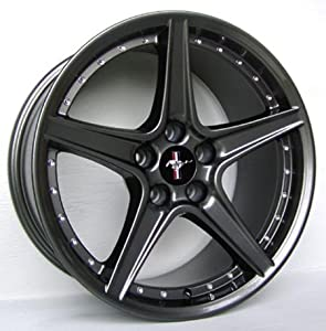 Amazon.com: Ford Mustang Saleen R Style Wheel Gunmetal Wheels Rims