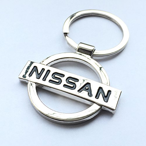 itech-r-nissan-chrome-metal-car-logo-keyring-key-fob-keychain