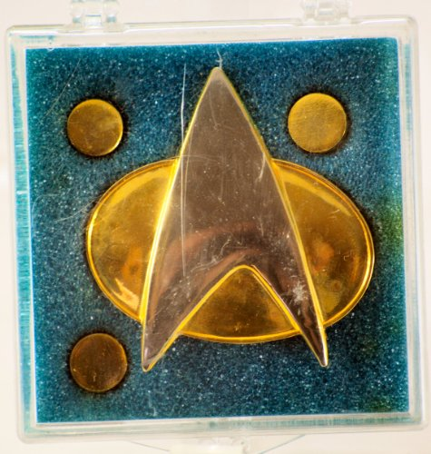 Star Trek TNG Authentic Full Size COMMUNICATOR PIN New