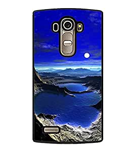 printtech Moonlight Other Planet Back Case Cover for LG G4 ,LG G4 H815