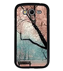 Fuson Premium 2D Back Case Cover Amazing Scenery With Purple Background Degined For Samsung Galaxy Grand Neo Plus::Samsung Galaxy Grand Neo Plus i9060i
