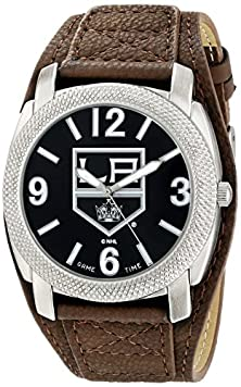 "buy Game Time Men'S Nhl-Def-La ""Defender"" Watch - Los Angeles Kings"