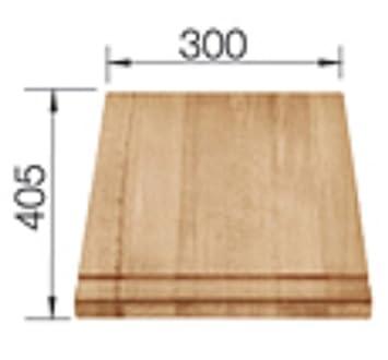 blanco 217 950 holzschneidebrett buche holzbrett zubeh r sp le sp lbecken k che dc475. Black Bedroom Furniture Sets. Home Design Ideas