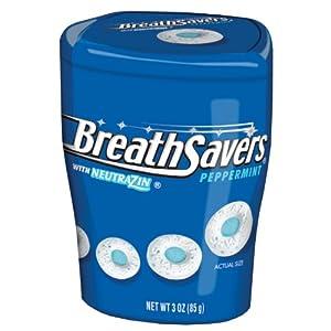 Breath Savers Mints, Peppermint, 3 Ounce