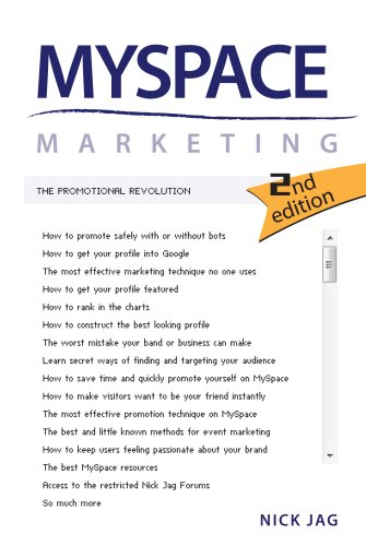 myspace-marketing-the-promotional-revolution-2nd-edition-english-edition