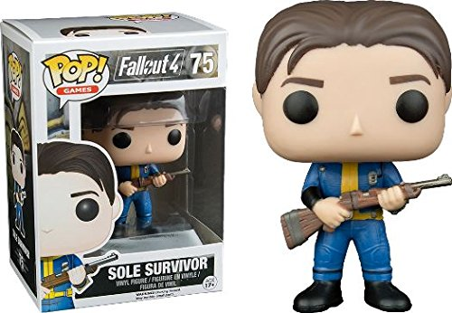Funko POP! Fallout 4: Sole Survivor - Video Game Vinyl Figure 75 NEW