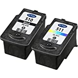 Canon PG510 & CL511 Remanufactured Black & Tri-colour Ink Cartridges for use with Canon Pixma MX320, MX330, MX340, MX350, MX360, MX410 and MX420 Printers by Ink Trader