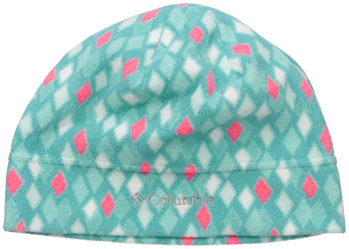 Columbia Big Girls Youth Glacial Fleece Hat, Miami Diamond, S/M (Diamond Ski Cap compare prices)
