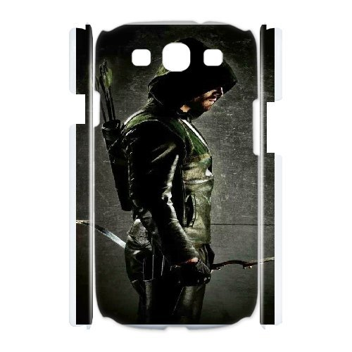 Hardshell Protective Green arrow cover case For Samsung Galaxy S3 I9300 QW4H2391