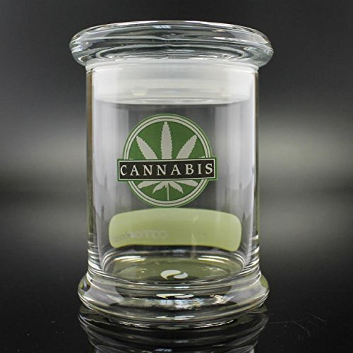 Medical Odorless Air Tight Glass Jar 7oz size (7 Ounce Glass Jar compare prices)