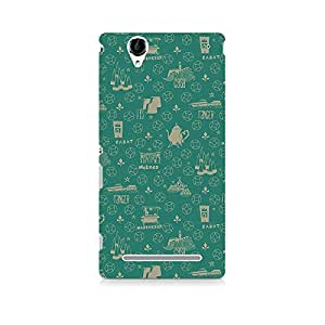 TAZindia Designer Printed Hard Back Mobile Case Cover For Sony Xperia T2 Ultra
