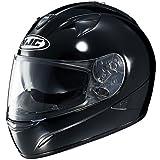 HJC Solid Men's IS-16 Sportsbike Motorcycle Helmet - Black / Small