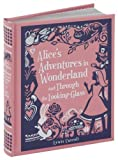 Alices Adventures in Wonderland and Through the Looking-Glass (Barnes & Noble Leatherbound Childrens Classics)